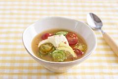 豆腐で集中力アップ! 試合当日の朝に食べたいピリ辛スープ【スポーツキッズのためのガッツリ飯 Vol.3】