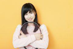 AKB48佐藤朱「テニスのない生活は想像できない」(後編)│新連載「アイドルと、スポーツと、青春と。#1」