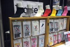 和紙でできたスポーツ向け靴下! 吸湿速乾性で蒸れを防止