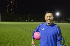 「毎日少しでも練習することを忘れないで」。前園真聖がスペシャルサッカー教室で小学生に伝えたこと