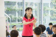 子どもは夢中に、親は感心。内村周子が教える体操教室が大人気なワケ
