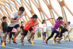 かけっこが速くなりたい小学生が集合!新豊洲で「かけっこ教室」が開催