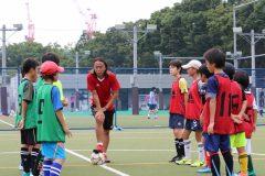 「集中力がなければ、どれだけ練習しても意味がない」。元サッカー日本代表・北澤豪が特別サッカー教室を開催