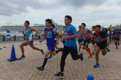 仲間と一緒にタスキを繋ぐ「ファンダフル リレーマラソンin横浜赤レンガ倉庫」出走レポ