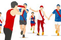 一人で走るのも飽きてきた!仲間と走る「リレーマラソン大会」の魅力と楽しみ方