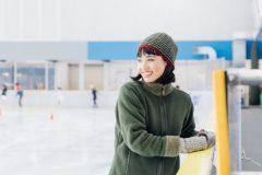 慣れないアイススケートでちょっと困りながら滑っている姿が見たい!│スポーツデートなう。で使っていいよ #6