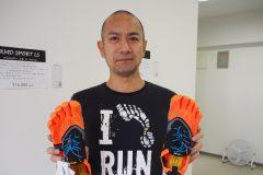 「陸王」で話題になったランニング足袋の原型。Vibram FiveFingersの国内唯一直営専門店が沖縄に