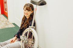 「芸能活動をはじめたのは普及のため」かわいすぎる一輪車アスリート佐藤彩香が生まれたワケ(後編)