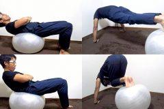 自宅で手軽にダイエット!バランスボールの効果と体幹エクササイズ3選