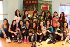 チアリーダー女子が集結!NFLチアリーダー伊藤奈美のワークショップは、超エネルギッシュ!