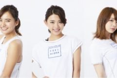 「東京ガールズコレクション」出演モデルで構成の「TOKYO GIRLS RUN」。七海、村田倫子、アンジェラ芽衣、坪井ミサト、佐野千晃が加入