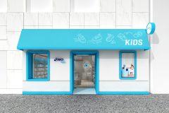 アシックス初!子ども靴の旗艦店「ASICS KIDS GINZA」を4月27日オープン
