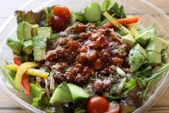 栄養バランス完璧!完全食BASE PASTAを使用した「パーフェクトサラダパスタ」登場
