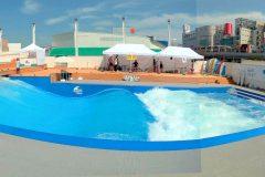駅徒歩5分でサーフィンやテニスにBBQも!? 複合スポーツ施設「スポル品川大井町」ついにオープン