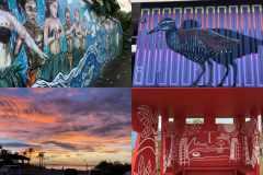 島全体がひとつの絵画展に。街を彩るアートに囲まれながらグアムで旅ランしてきた