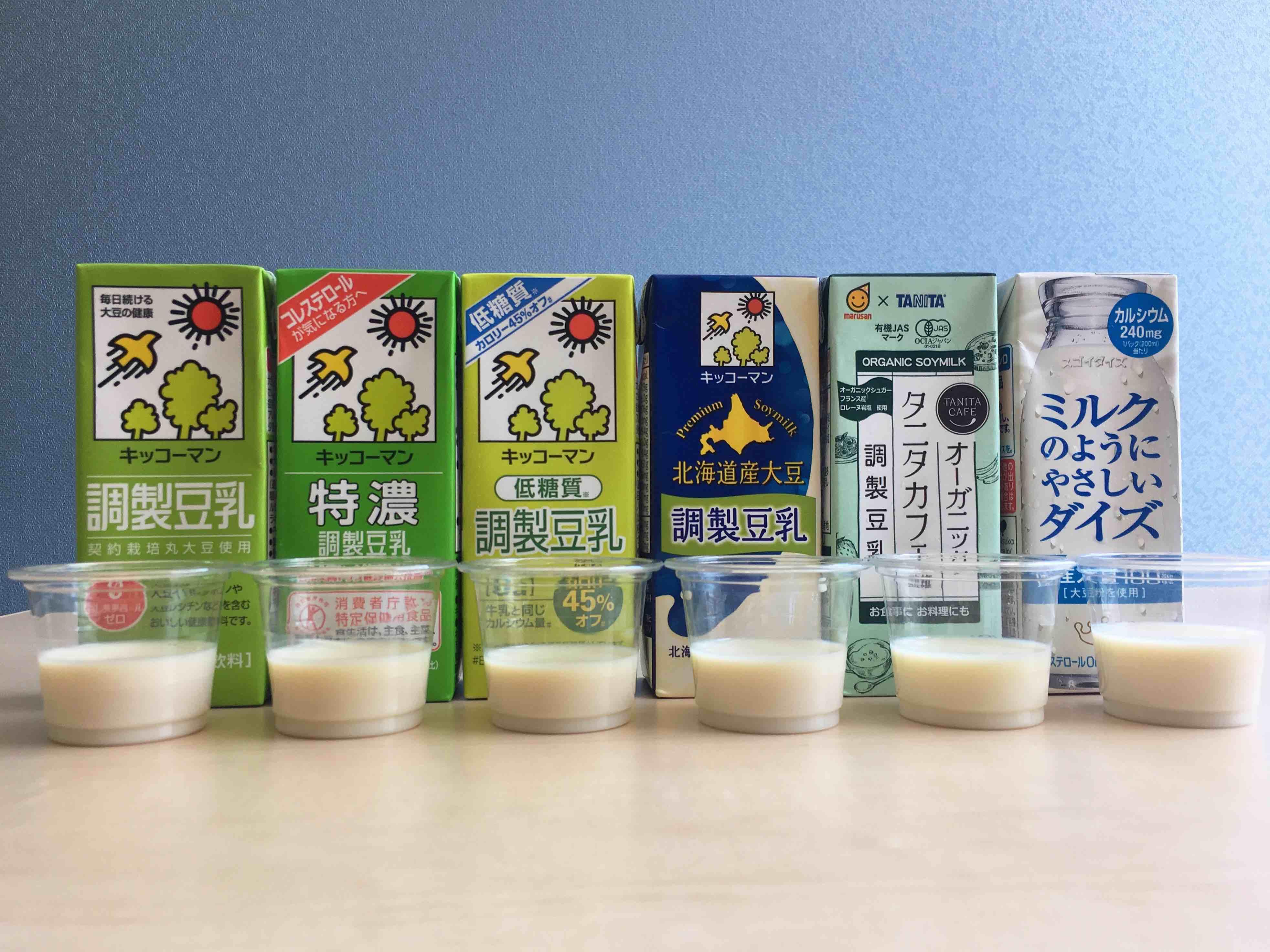 と の 違い 調整 豆乳 は 調整 豆乳 無