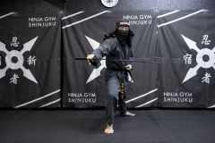 体幹トレーニングにも有効。新宿・歌舞伎町でリアルな忍者体験