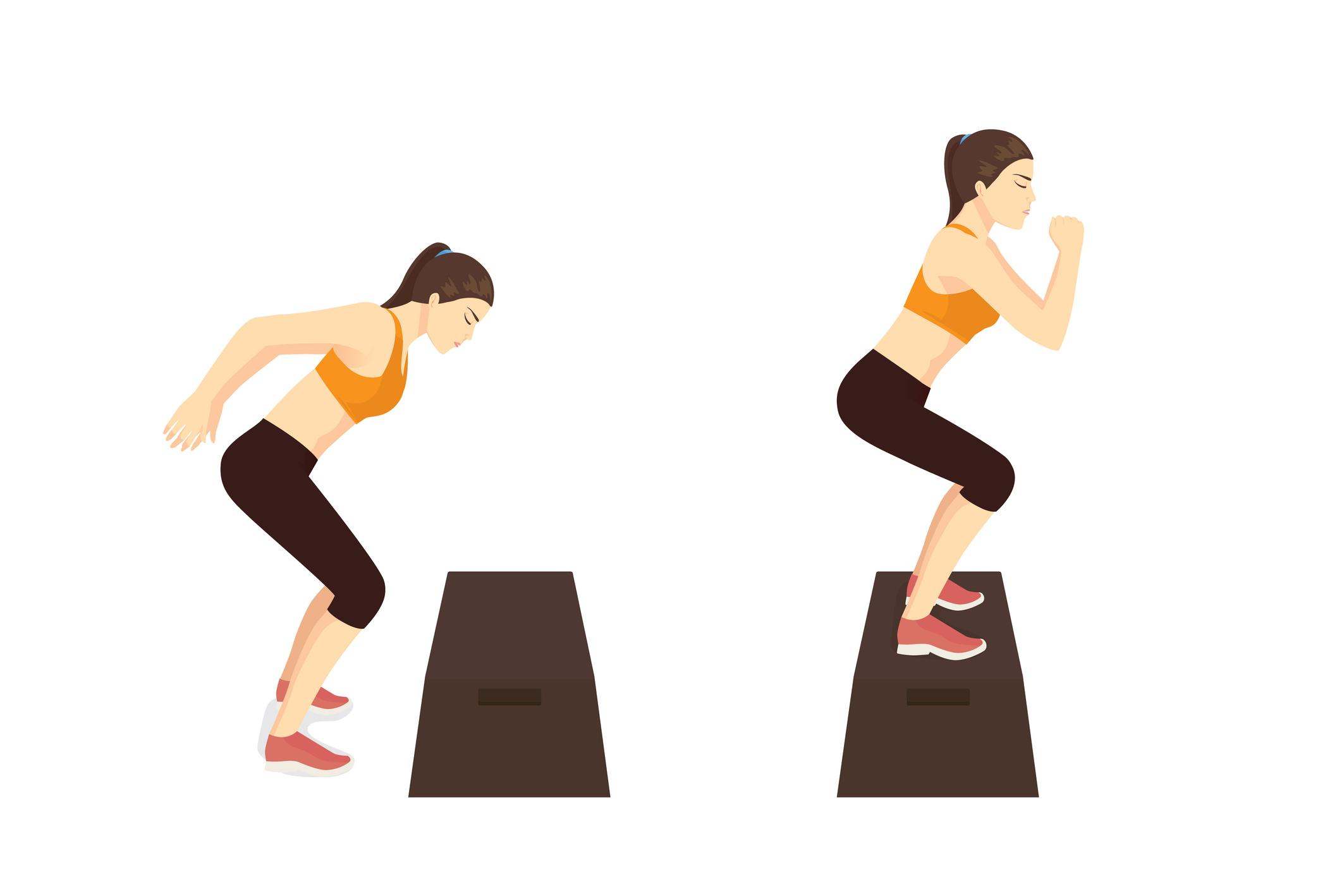 瞬発力を高める プライオメトリクストレーニング とは 効果 やり方