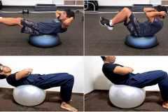 バランスボールを活用した自宅筋トレの効果とメリットとは。トレーナーが教える筋肉強化メニュー5選