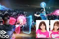 グラチアがテクノスポーツ「HADO」コラボイベント開催。大貫彩香さん&真奈さんが参加