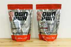 味・コスパよし、たんぱく質15g。Amazonブランド「OWN PWR(オウンパワー)」のホエイプロテイン|編集部のヘルシー食レポ