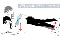 体幹トレーニング「プランク」の難易度を高める5つのテクニック