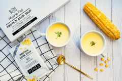 マッスルデリから「プロテインコーンスープ」登場。1食でたんぱく質15g、低脂質・低炭水化物を実現