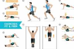 「サーキットトレーニング」の効果とやり方。筋トレ+有酸素運動で体脂肪を減らす