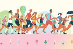 なぜランナーは、痛みや苦しみを味わいながらもマラソンに出続けるのか。その心理状態を調査