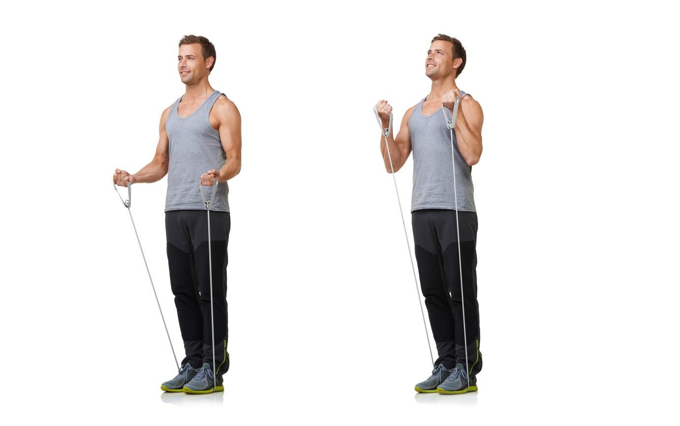 トレーニングチューブで自宅筋トレ│上半身&下半身を鍛えるエクササイズ   トレーニング×スポーツ『MELOS』