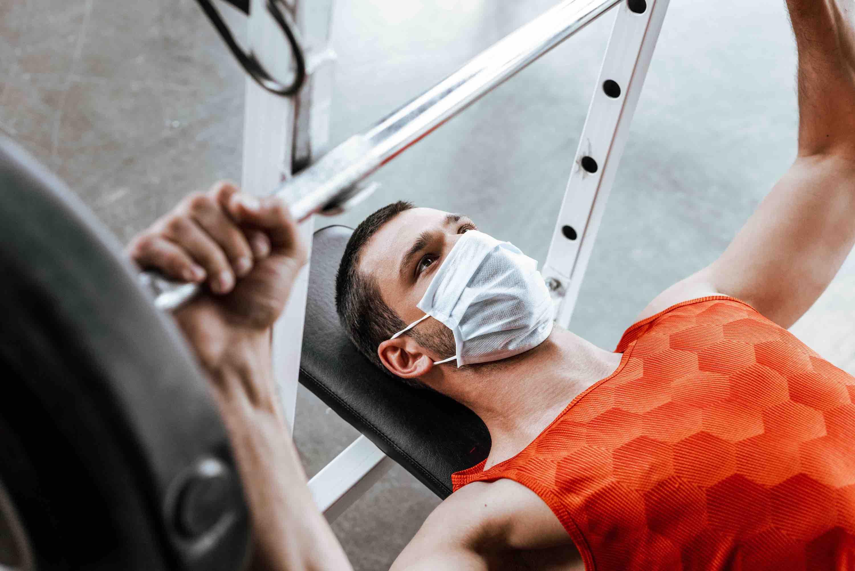 マスク し ながら 運動