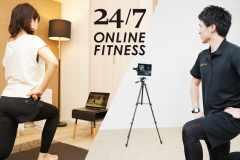 パーソナルジム「24/7Workout」が月額制オンラインフィットネスサービス開始