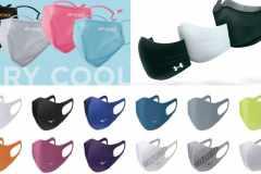 スポーツメーカー・ブランドの夏用マスクまとめ。水着素材や冷感生地で涼しく運動できそう:最新版