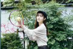 26時のマスカレイド吉井美優「テニスはサーブがしっかり打てたときが気持ちいい」(前編)│アイドルと、スポーツと、青春と。#30