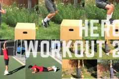 自宅でできるクロスフィットトレーニング。ヒーローワークアウトで運動不足を解消