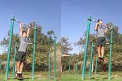 懸垂(チンニング)トレーニングのやり方│腹筋・背中・腕をまとめて鍛える