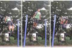 公園で筋トレ│鉄棒(チンニング)トレーニングでマッチョな体を作る