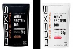 SIXPADからプロテイン登場。たんぱく質20g、アミノ酸スコア100、保存料・増粘剤・消泡剤ゼロ