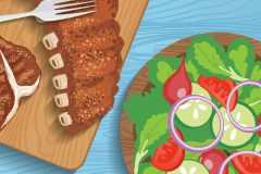 食べ順ダイエット。肉と野菜、どっちを先に食べると効果的?ライザップトレーナーが解説