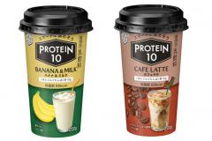 雪印メグミルクから、たんぱく質10g配合の乳飲料「PROTEIN10」が新登場