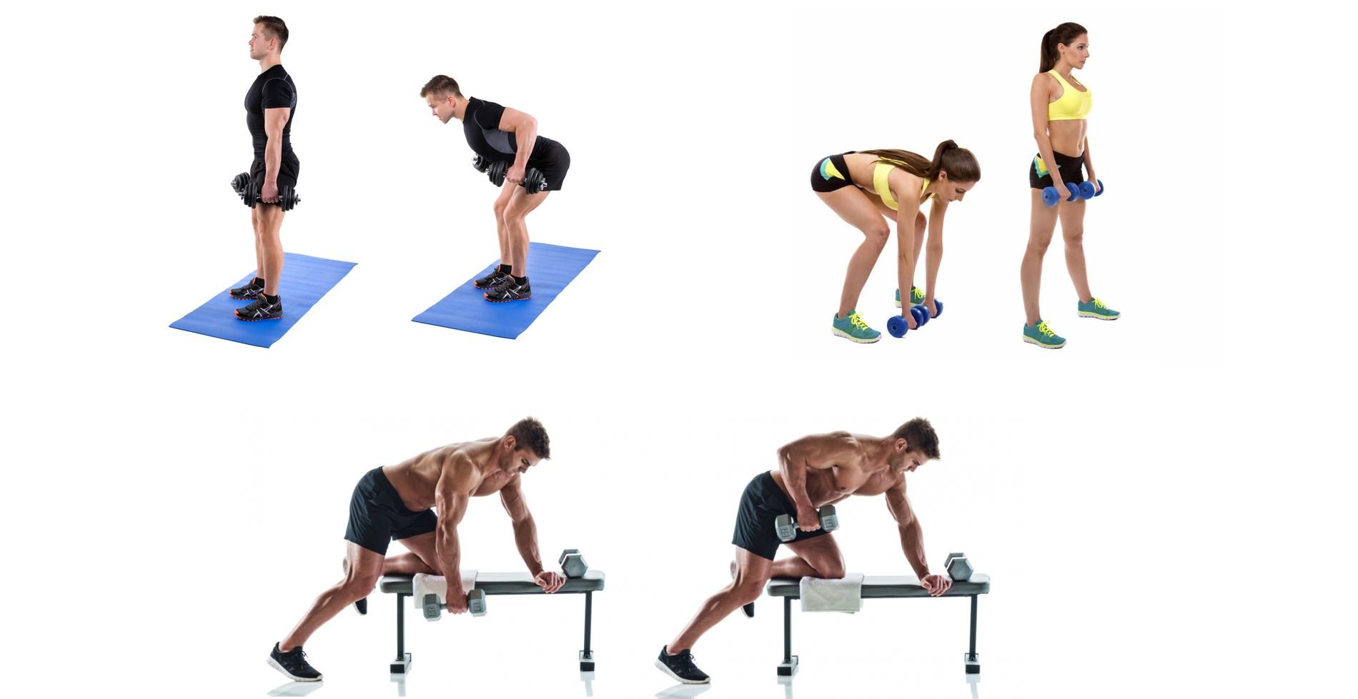ダンベル 背中 トレーニング