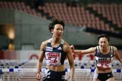 寺田明日香選手、全体トップの13秒13で決勝進出【陸上日本選手権@新潟】
