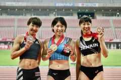 日本選手権2位の寺田明日香選手「まだまだ力不足。五輪がかかる来年の日本選手権では力をつけて戻ってきたい」【陸上日本選手権@新潟】