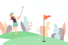 いい加減、ゴルフが下手なことの言い訳にテニスを使うの、やめようと。│連載「甘糟りり子のカサノバ日記」#54