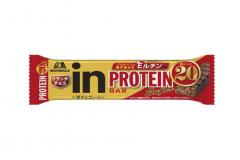 森永製菓から「inバー プロテイン Super クランチチョコ」新登場。たんぱく質20g、抗酸化成分Eルチン配合