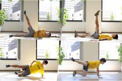 股関節の筋肉を鍛える筋トレ&簡単ストレッチエクササイズ4つ