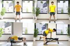 """「背筋」は部位別に筋トレせよ。背中の筋肉""""広背筋・脊柱起立筋・僧帽筋""""を鍛えるダンベルトレーニング5選"""