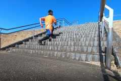 走力アップに効果的!「階段」を使ったトレーニングメニュー