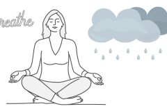 雨の日に気分が落ち込むときの「完全呼吸法」