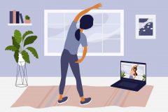 自宅トレーニング、1年以内に始めた人は約35%で女性多め。運動頻度は「毎日」「週2~3日」